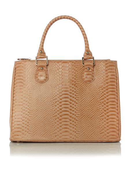 Lamb 1887 Joanna neutral medium tote bag