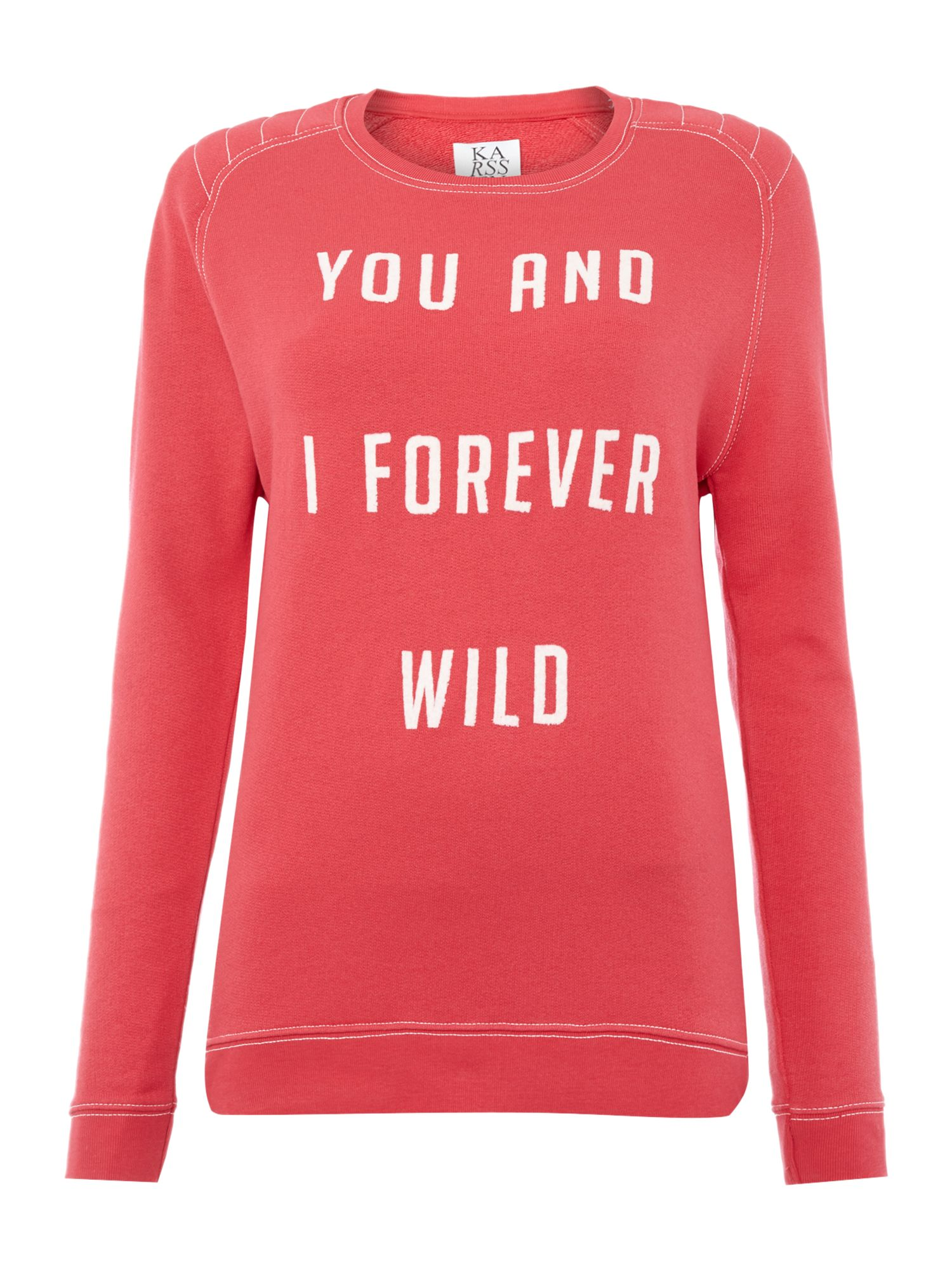 Zoe Karssen Knitwear Sweatshirt, Red
