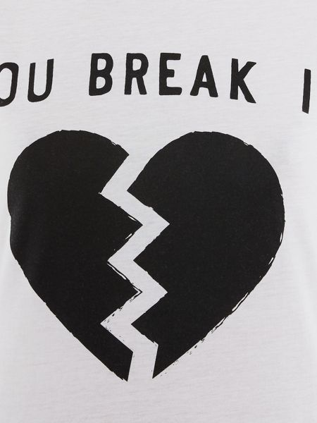Zoe Karssen Short sleeve you break it tee