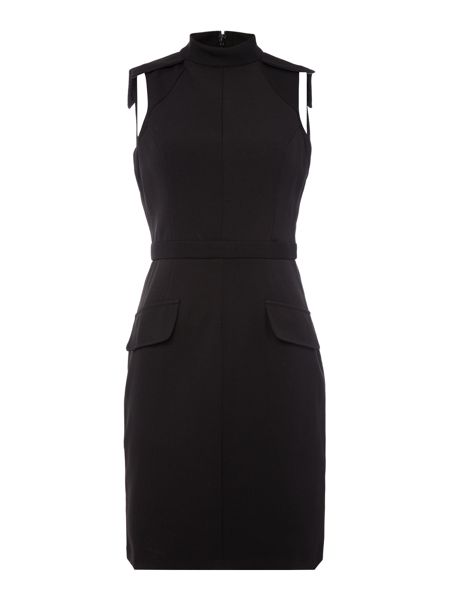 Lost Ink Sleeveless Fitted Bodycon Dress