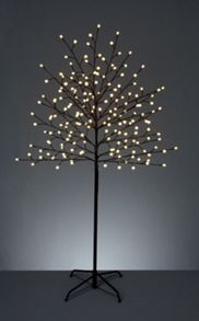 Linea 2.5m Tree with 400 LED ball white lights