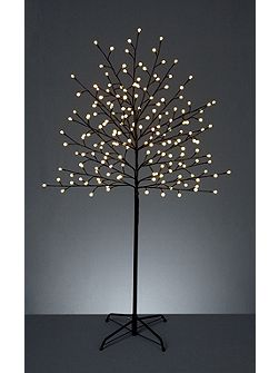 2.5m Tree with 400 LED ball white lights
