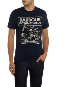 Barbour Short sleeve hill climb motorcycle crew