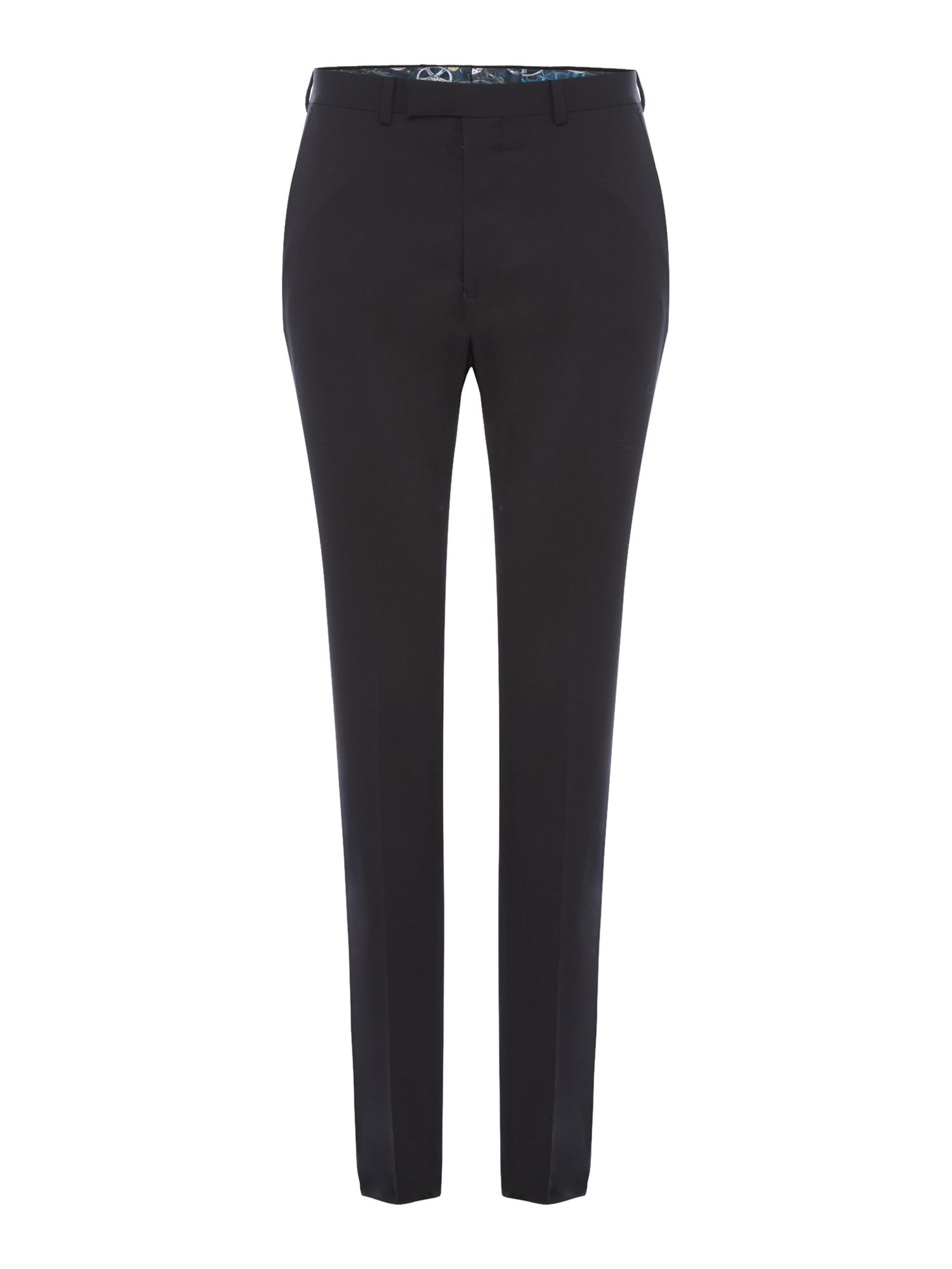 Mens Ted Baker Timeless Suit Trousers Black