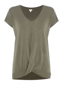 Linea Kensington Twist Spot Top