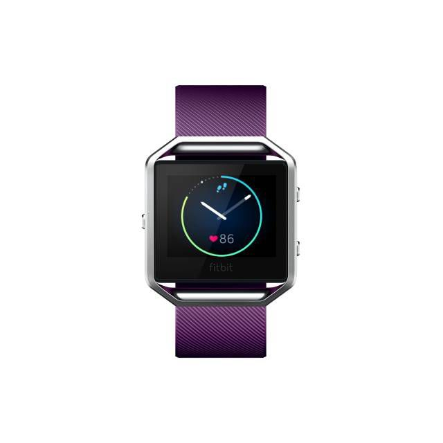 Fitbit Blaze Smart Fitness Watch Small Plum