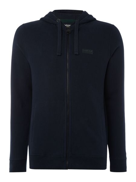 Barbour Small logo ziq thru hoody