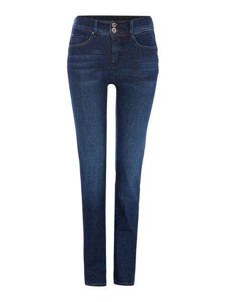 Salsa Secret slim push in jean in denim mid wash