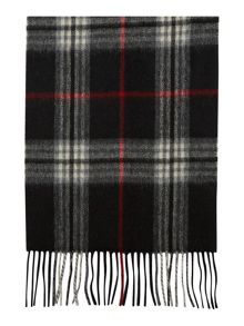 Howick Wool and cashmere check scarf