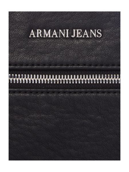 Armani Jeans Metal Plaque Logo Small Cross Body
