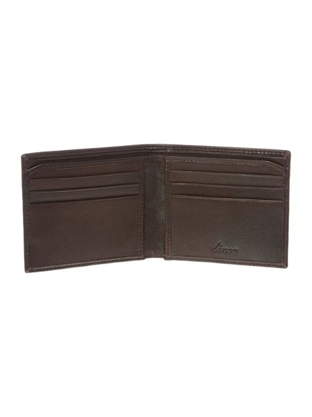 Linea Grain Leather Billfold Wallet