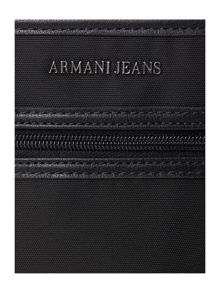 Armani Jeans PU Front Zip Small Cross Body