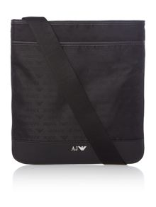 Armani Jeans All Over Logo Cross Body