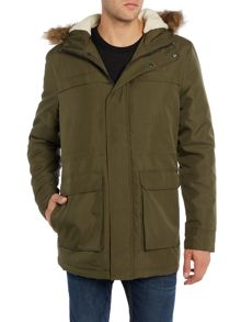 Only & Sons Zip Through Parka