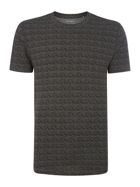 Only & Sons Diamond All Over Print Crew Neck T-shirt