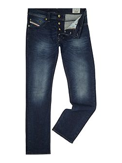 Larkee 853R straight fit mid wash jeans