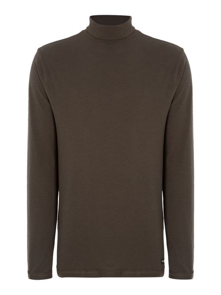 Only & Sons Roll Neck Long Sleeve Jersey Top