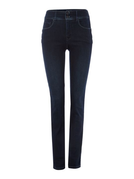 Salsa Secret Push In Slim Jeans in Denim Dark Wash
