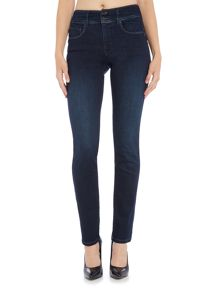 Salsa Secret push in slim jeans in denim mid wash