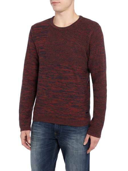 Only & Sons Marl Effect Crew Neck Jumper