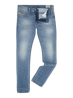 Thavar 842H slim fit stretch light wash jeans