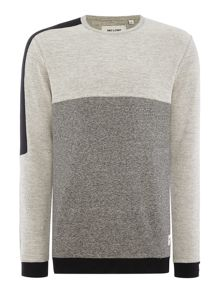 Only & Sons Block Colour Crew Neck Sweatshirt