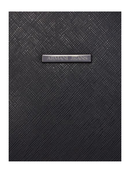 Armani Jeans Safiano Embossed Document Holder
