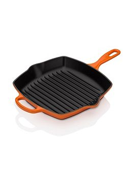 Signature Cast Iron Grillit, Volcanic Orange