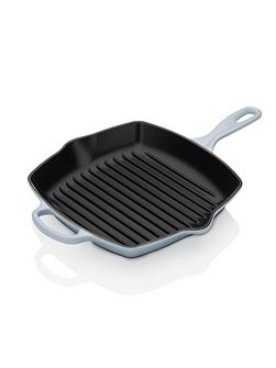 Signature Cast Iron Grillit, Coastal Blue