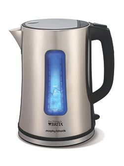 Brita Filter Kettle, Stainless Steel
