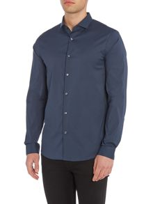 Michael Kors Slim fit stretch long sleeve shirt