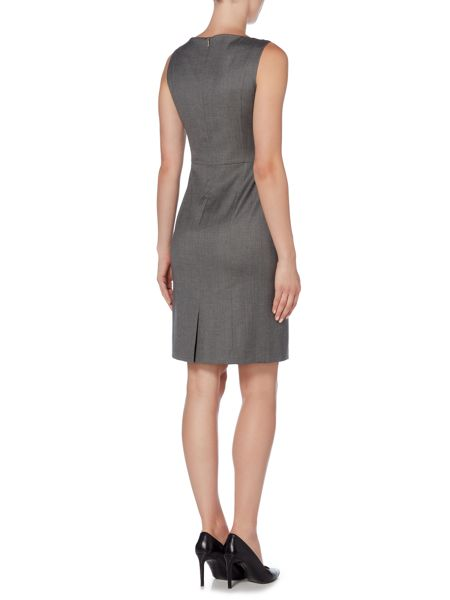 Hugo Boss Daflink Cufflink Detail Shift Dress