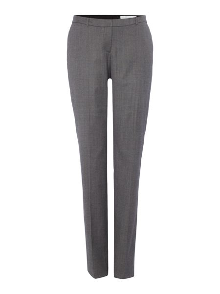 Hugo Boss Tamea1 Check Straight Leg Suit Trousers