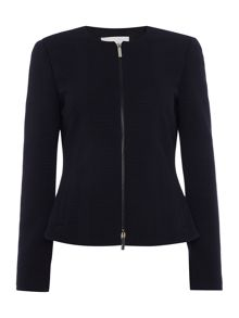 Hugo Boss Keralina Zip Through Textured Jacket