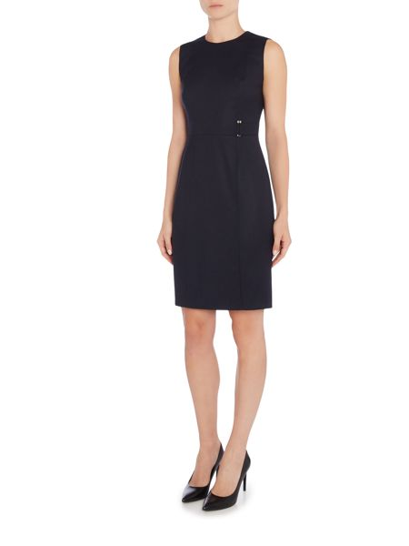 Hugo Boss Dyflena Flannel Shift Dress