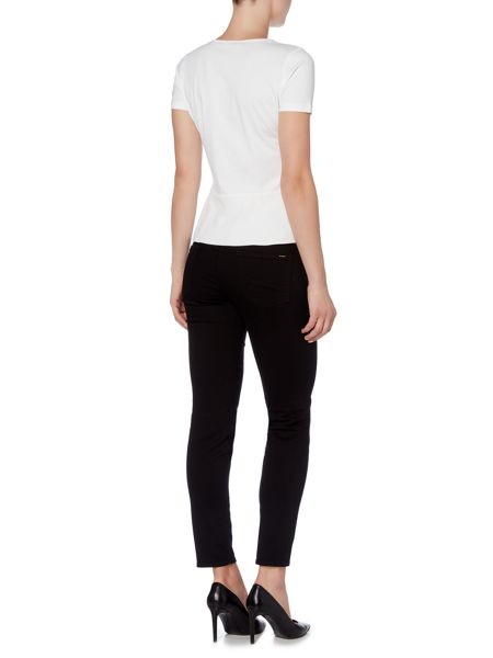 Hugo Boss Nelin Mid Rise Cropped Jeans