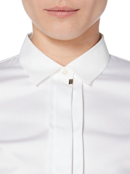 Hugo Boss Blista Structured Cotton Stretch Shirt
