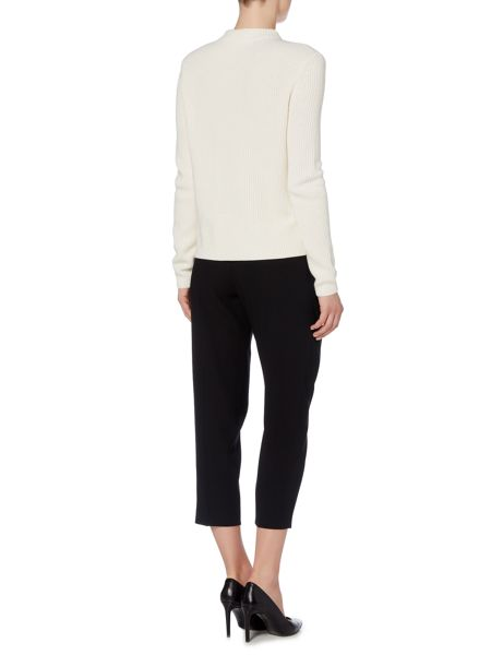 Hugo Boss Alresa Crop Wrap Front Tapered Trousers