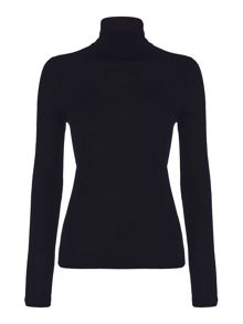 Hugo Boss Fabuna Merino Wool Polo Neck Jumper