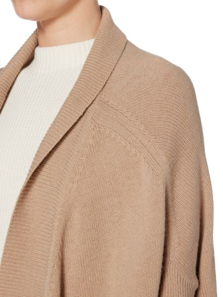 Hugo Boss Farela Long Chunky Knitted Cardigan