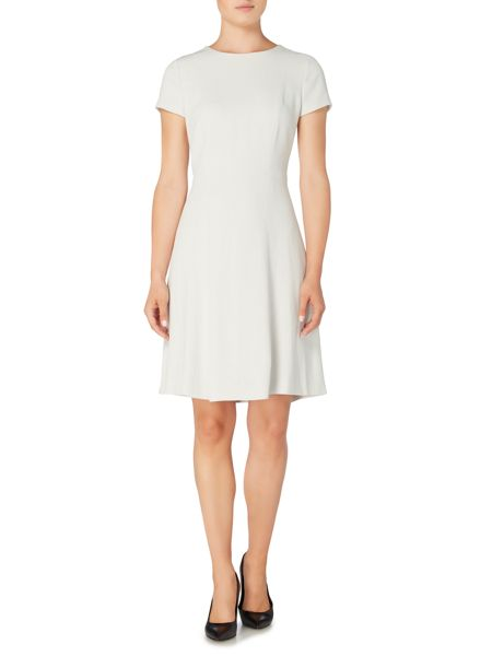 Hugo Boss Dalyna2 Short Sleeve Flared Skirt Dress