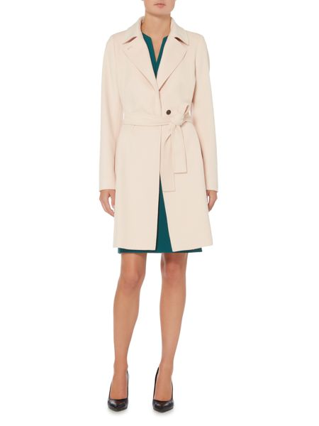 Hugo Boss Canika1 Belted Luxe Wool Coat