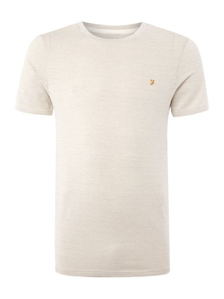 Farah Mckay regular fit fine dot t shirt