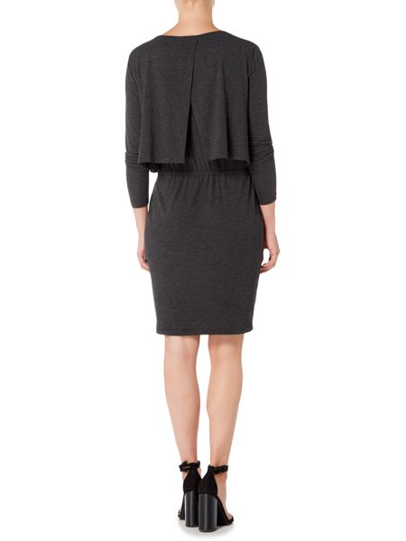 Gray & Willow Katya drawstring waist jersey dress