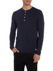 Selected Homme Grandad Long-Sleeve T-shirt
