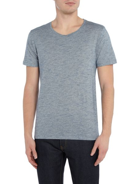 Selected Homme Melange Crew Neck Short Sleeve T-shirt