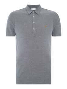 Farah Sinclair regular fit birdseye polo shirt