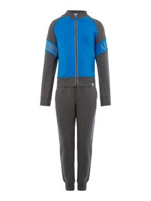 Armani Junior Boys Zip Up Top Tracksuit