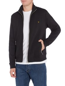 Farah Rayton funnel neck zip through jacket