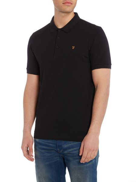 Farah Blaney regular fit pique polo shirt